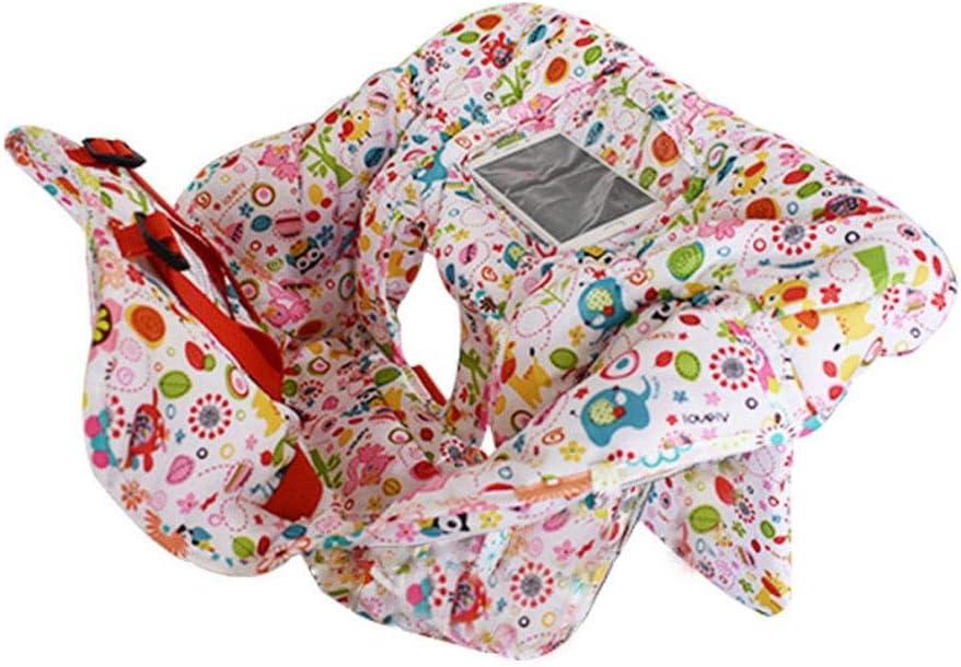 Leap-G Coussin De Panier pour B/éb/é 2-en-1 Housse De Chaise Haute Coussin De Chaise /À Manger avec Ceinture Tapis De Voyage De Protection Portable pour B/éb/és M/âles Et Femelles