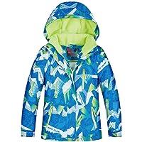 Waterproof Ski Jacket, Boys Snowsuit Winter Warm Outwear Windproof Breathable Outdoor Sport Ski Snow Jacket