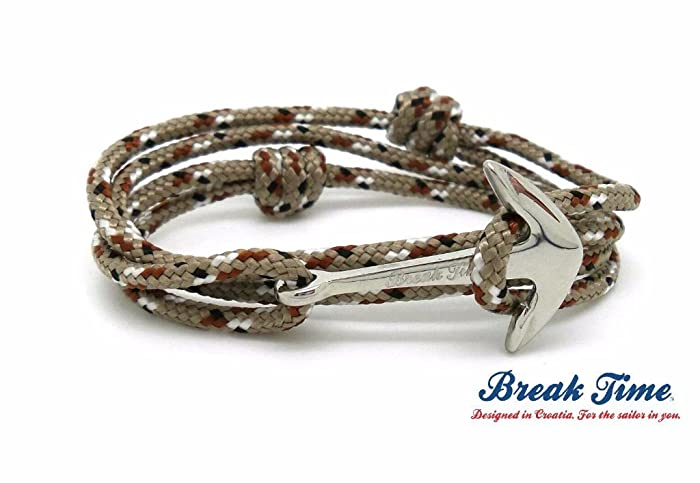 568eb56187c Amazon.com  Camo Paracord   Stainless Steel Anchor (Rose Gold ...