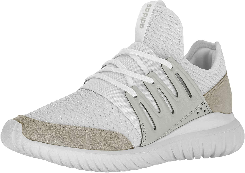 adidas Mens Tubular Radial Casual Shoes (12) White