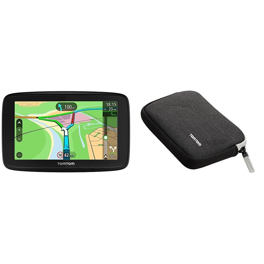 TomTom VIA 53 (5 Pouces) - GPS Auto - Cartographie Europe 48, Trafic à Vie (via Smartphone) et Appel Mains-Libres Trafic à Vie (via Smartphone) et Appel Mains-Libres 1AL5.002.04