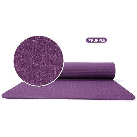 HJKKLL Esterilla De Yoga, Material De Protección Ambiental ...