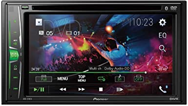 Pioneer AVH-210EX in-Dash 2-DIN 6.2 Touchscreen DVD Receiver with Bluetooth