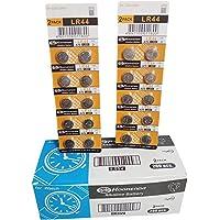 Koonenda AG13 1.5V Alkaline, 20 pcs of LR44 Batteries Coin Battery Equivalent to: A76, V13GA, AG13, G13, PX76A, GPA76…