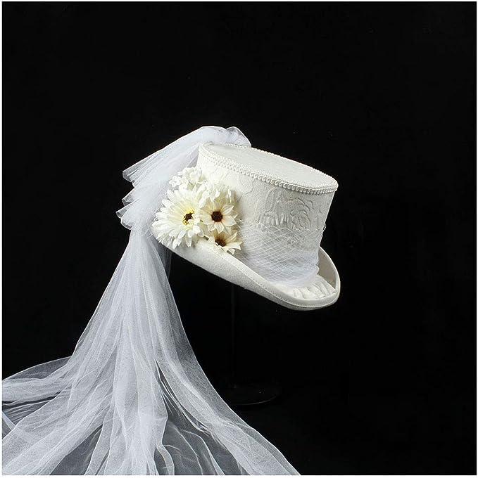 YAJIE-HAT, 2020 - Sombrero para Mujer, Estilo Victoriano, Estilo ...