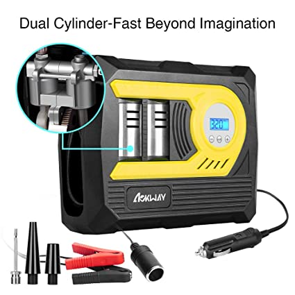 Amazon Com Tire Inflator Portable Air Compressor Pump Precise