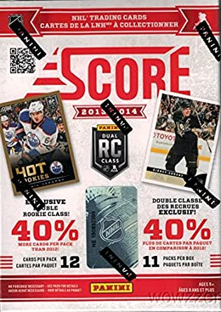 2013/14 Score NHL Hockey Huge Factory Sealed Blaster Box with 11 packs and 132 Cards