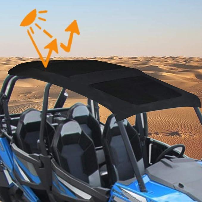 KOLEMO Soft Top UTV Canvas Roof Top for 2015-2019 Polaris 900 XP 1000S Turbo 4 Seater
