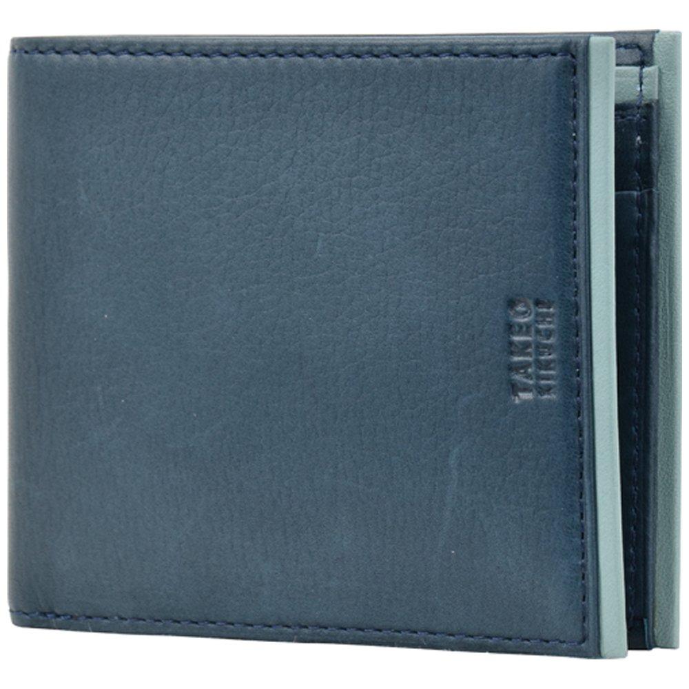 (タケオキクチ) TAKEO KIKUCHI 二つ折り財布 313016 ソフト B01BTUSUW4 【41】ネイビー 【41】ネイビー -