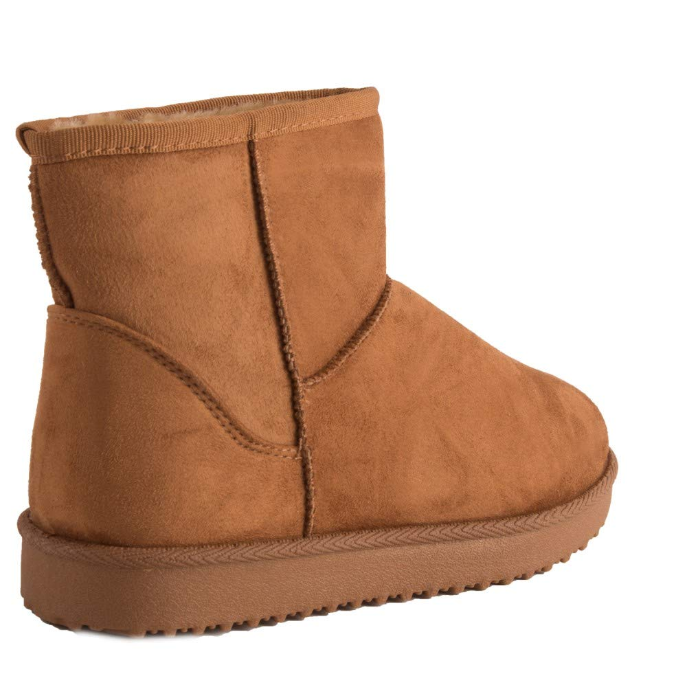 b28eefa576f0 Primtex Bottes fourrées Femme Forme Boots Basse à Fourrure synthétique-:  Amazon.fr: Chaussures et Sacs