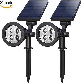 2-Pack Holan 4-LED Solar Landscape Lights