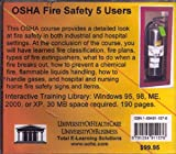 OSHA Fire Safety, 5 Users, Farb, Daniel and Gordon, Bruce, 1594911576