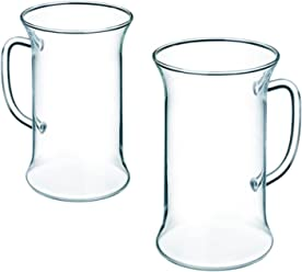 clear Simax Glassware 8593419484469 Simax heat protective rectangle 4.4 l one size