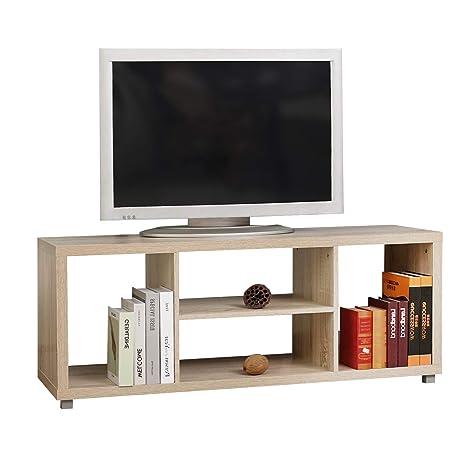 SogesFurniture Mueble de Almacenamiento de Soporte de TV para el hogar Soporte de TV para Madera