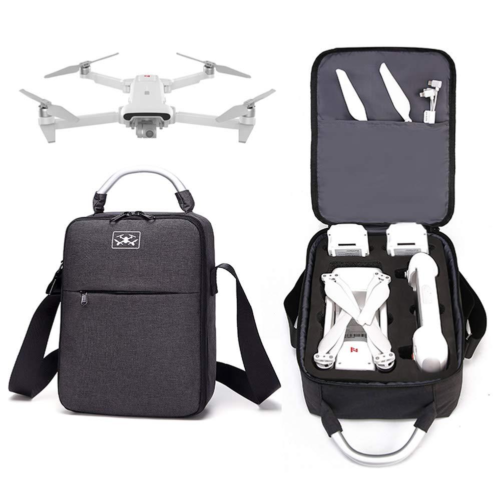 Bolso de Hombro Ajustable para Xiaomi FIMI X8 SE Bolsa de Transporte Impermeable para dron de avi/ón Ganquer Tama/ño Libre Negro