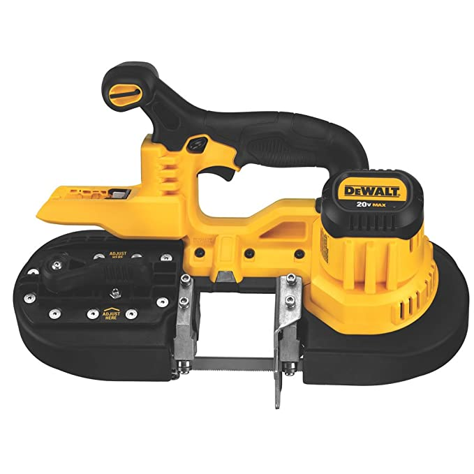 best band saw: DEWALT DCS371B - a reliable kit for all your cutting needs