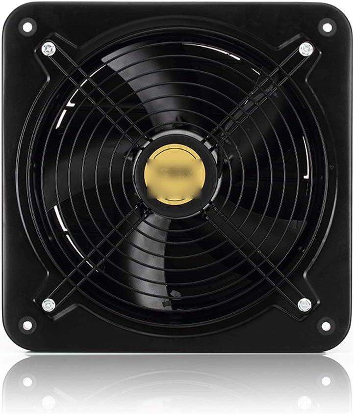 QIQIDEDIAN Ventilador Ventilador de Cobre Puro Ventilador Ventilador Ventilador de Humo de la Cocina Ventilador de Escape Industrial de Alta Velocidad de 10 Pulgadas