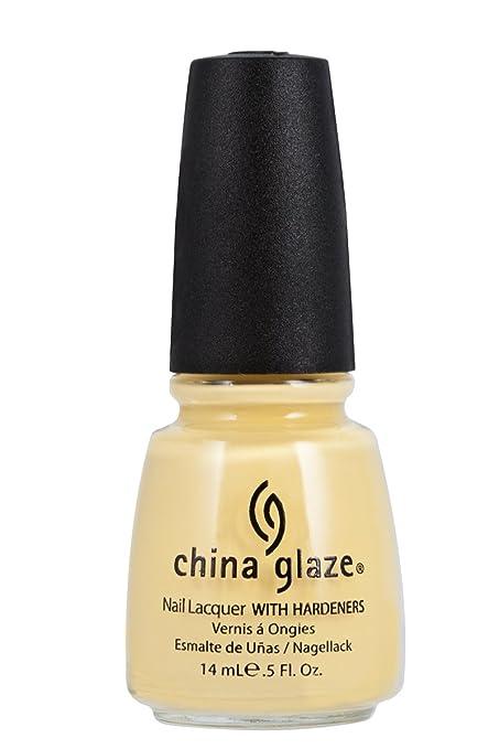 China Glaze, Lemon Fizz, 0.5 Fluid Ounce Best Summer Nail Polish