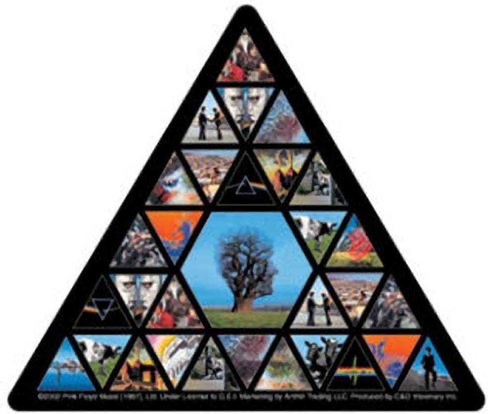 C&D Visionary Pink Floyd - Triangle Sticker (S-1793)