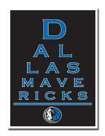 Amazon.com : Dallas Mavericks EYE 12x16 Poster Print Wall Art Décor ...