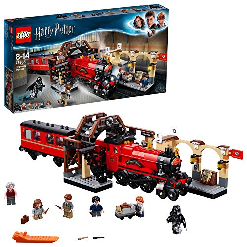 LEGO 75955 Harry Potter Hogwarts Express Train Toy, Wizarding World Fan Gift, Building Sets for Kids, - 18 Inch Figure Potter Harry