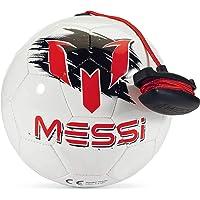 Messi Futbol Antrenman Ekipmanı, Kontrol Kordonlu Futbol Topu, Egzersiz ve Hareketler için Ayarlanabilir