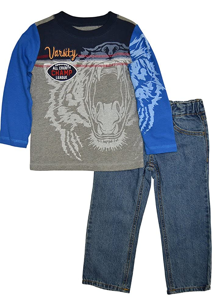 Alfa Global Boys' Tshirt and Pants 2pcs. Set