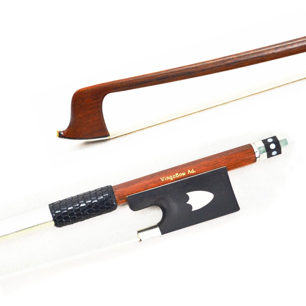Warm Tone Hard Stick Best Horsehair Well Balance Violin Bow 430V