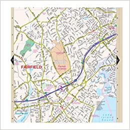 Fairfield County, CT Street Atlas: Kappa Map Group: 9780762582150 ...