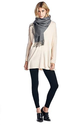High Style, sciarpa unisex, 100% lana d'agnello, effetto cashmere (disponibile in vari colori e motivi)