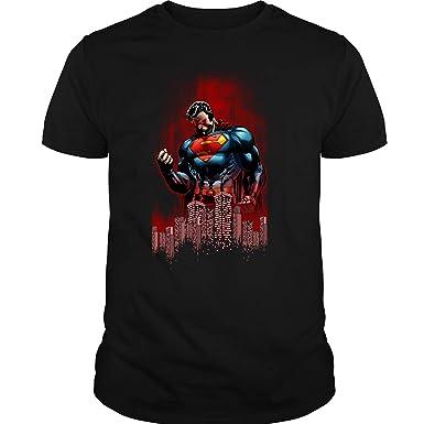 823119a8aa0b2 Amazon.com  HAWSHOP Superman T Shirt