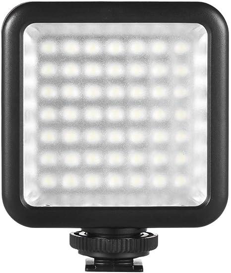 Andoer Mini LED Luz 49 pcs para Estudio Fotografía Lámpara LED de ...