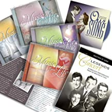 Music Of Your Life 8 CDs + Bonus CD + Bonus DVD + booklet - As Seen On TV by Andy Williams, The Platters, Nat King Cole, Dionne Warwick, Bobby Vinton, Dean Martin, Perry Como, Bobby Darin, Patsy Cline Johnny Mathis