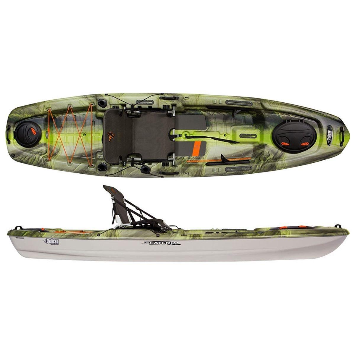 Amazon com : Pelican Sport The Catch 120NXT Kayak - Fade