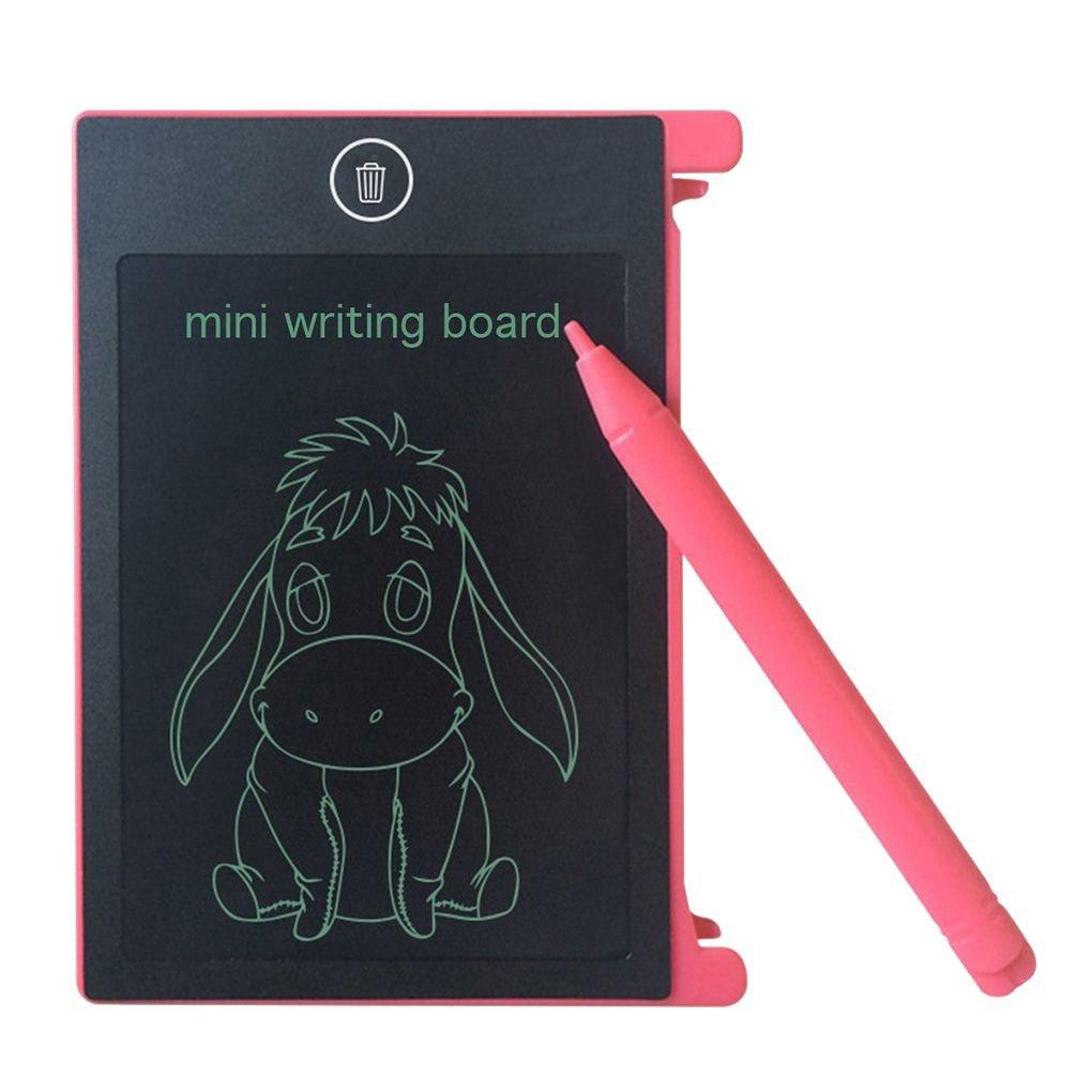 fish 4.4 Pulgadas LCD Digital Tableta de Dibujo Bloc de Notas de los Niños del bebé educativos para la Primera Junta de Escritura electrónica