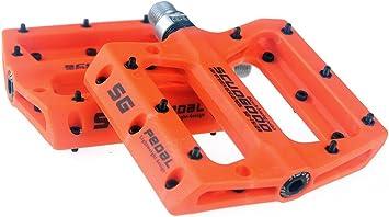 Pedales ligeros para bicicleta de montaña, para bicicletas tipo: AM, FR, DH, DJ, BMX, 1 par