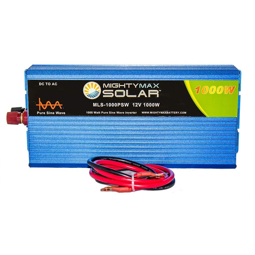 Mighty Max Battery 12v 1000w Power Inverter Dual Ac How To Build A100 Watt Pure Sine Wave Circuit Homemade Outlets Brand Product Automotive