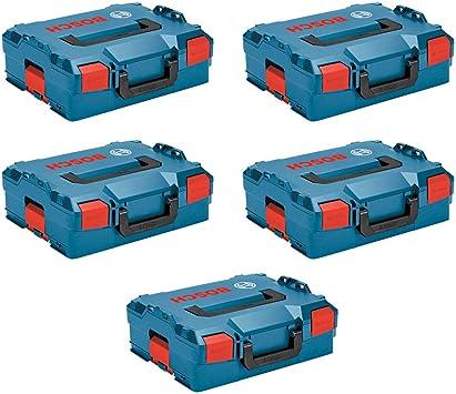 BOSCH Pack 5 Cajas apilables L-Boxx 136: Amazon.es: Bricolaje y herramientas