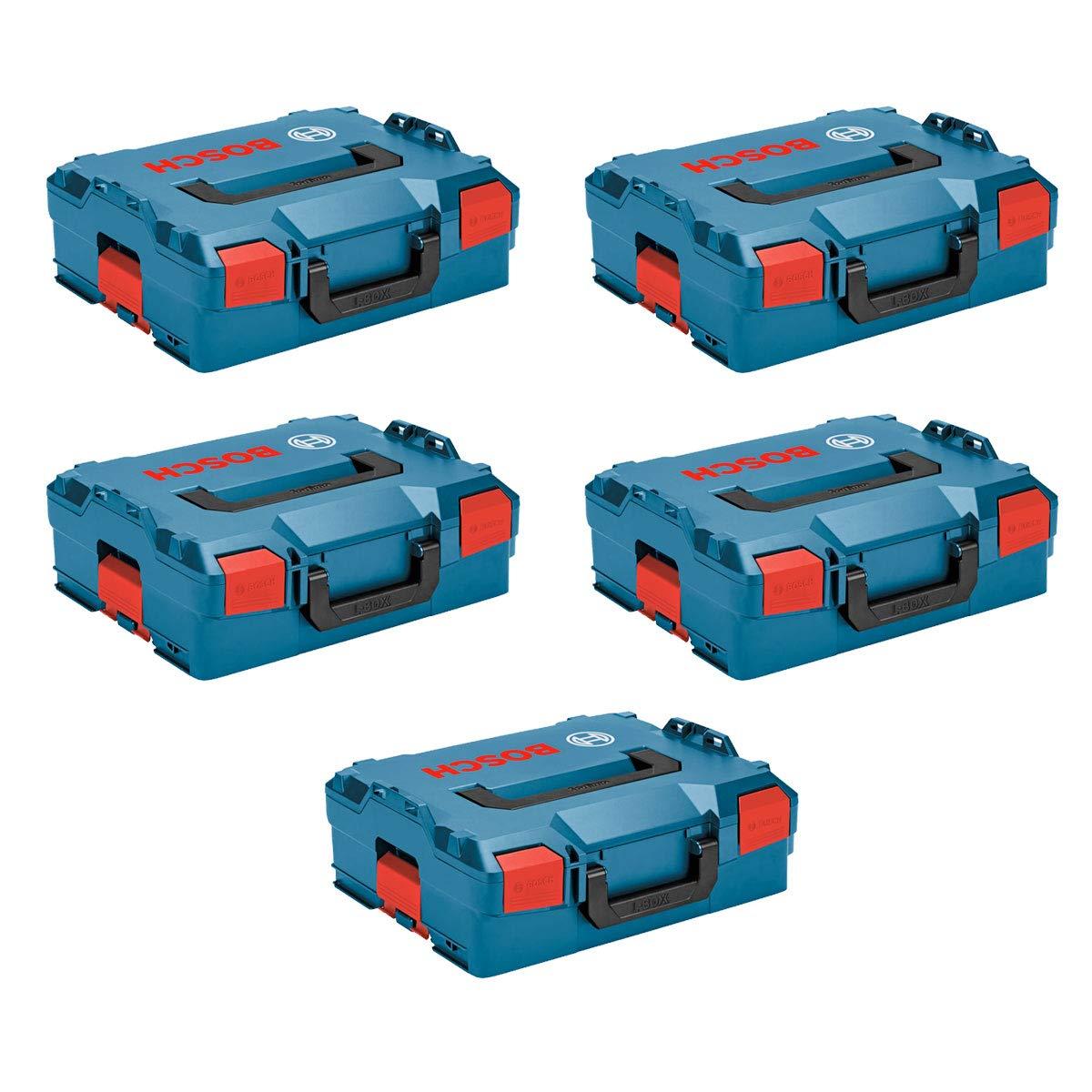 BOSCH Pack 5 Cajas apilables L-Boxx 136