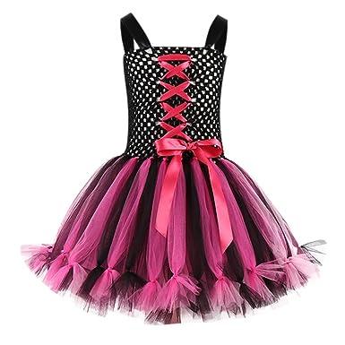 Falda NiñA, ASHOP Moda Ropa De Bebe NiñA Halloween Vestido De ...