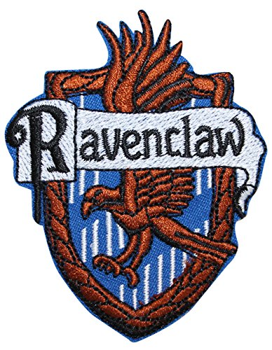 Ravenclaw Hogwarts' House Crest Harry Potter Embroidered Iron On Applique (Doctor Who Inspired Halloween Costumes)