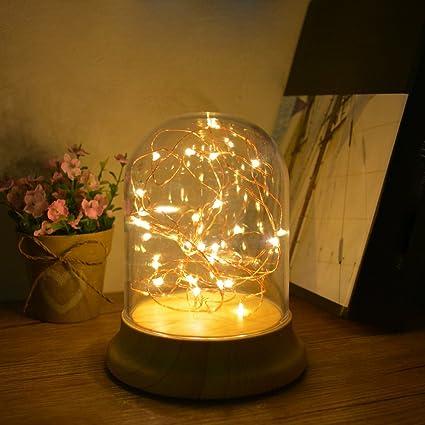 Excellent Amazon Com Mingsu Fairy Lights Led String Lights Indoor Decoration Wiring Digital Resources Cettecompassionincorg