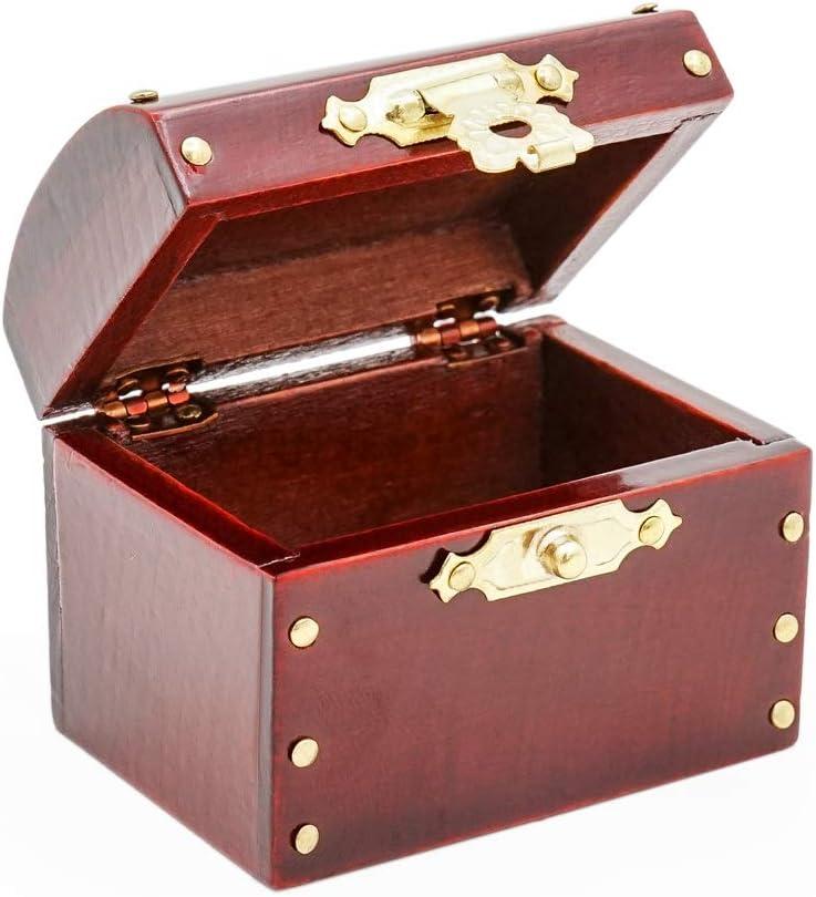 Amazon.es: Odoria 1/12 Miniatura Caja Madera Marrón Decorativo para Casa de Muñecas: Juguetes y juegos