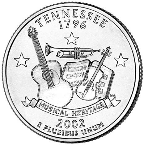 2002P TENNESSEE STATE QUARTER