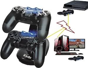 Base Carregador Duplo Arcade P Controle Playstation Ps4 Kingo KG219