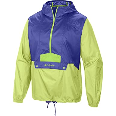 e4c274c7308 Columbia Mens Flashback Windbreaker Pullover Windbreaker Jacket - Purple -   Amazon.co.uk  Clothing