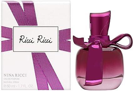 Nina Ricci Ricci, Agua de perfume, 50 ml (El paquete puede variar)