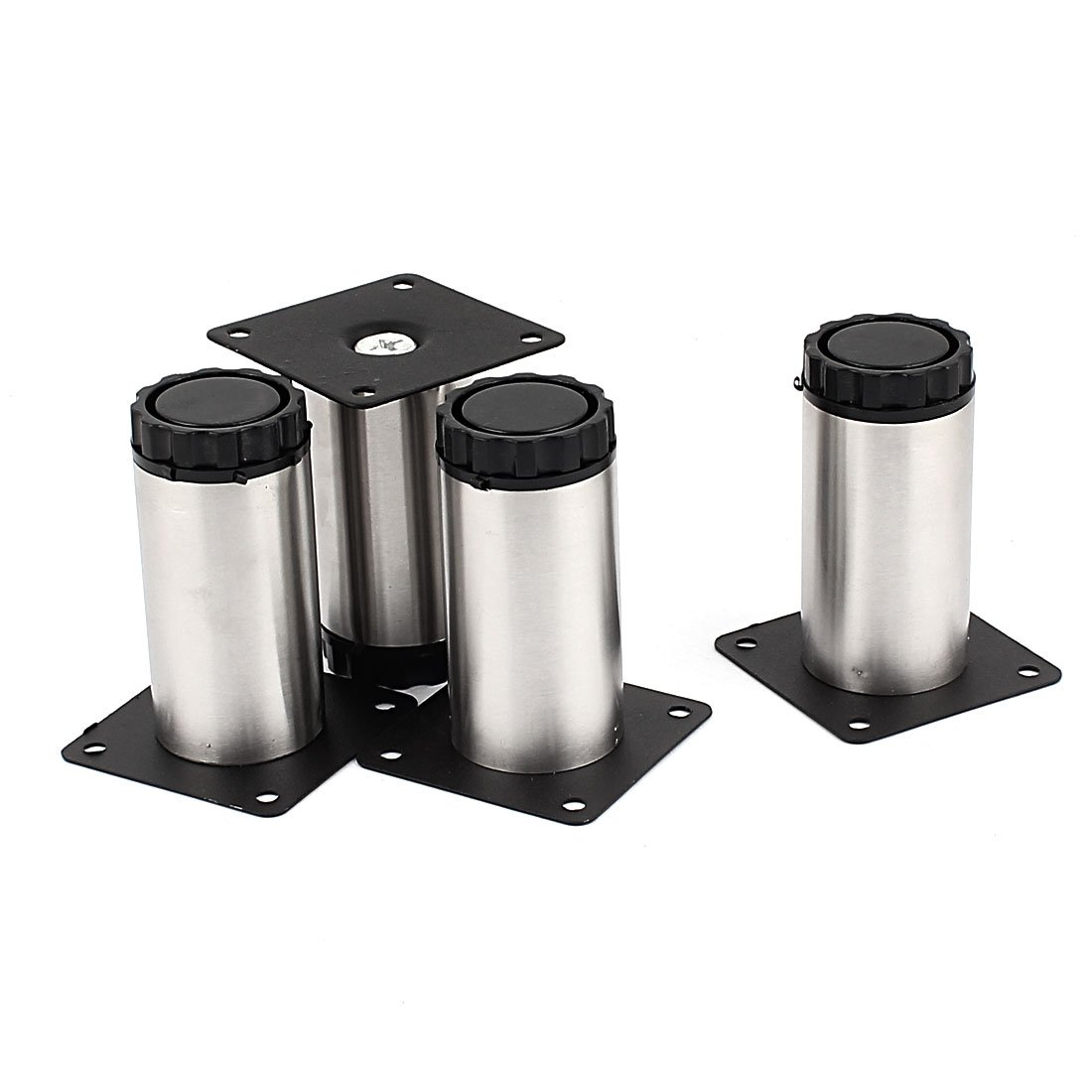 uxcell Adjustable Cabinet Legs 4pcs for Furniture Sofa Tea Table Bed Shelf