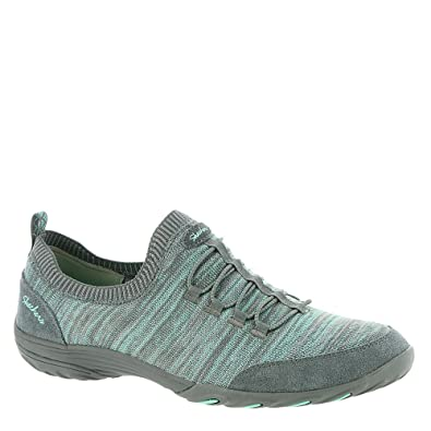 55d4275f0c8 Skechers Women s Empress - Happy Fleet Comfort Walking Shoe (6.5 B US)  Charcoal