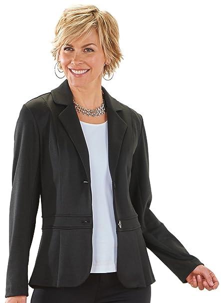 c3ee7be70910c Ponte Knit Blazer at Amazon Women's Clothing store: